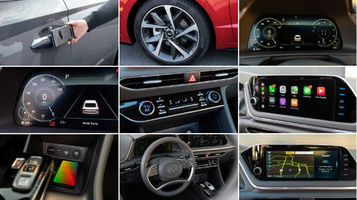 Hyundai Sonata 2021 thêm nhiều trang bị, giá không đổi