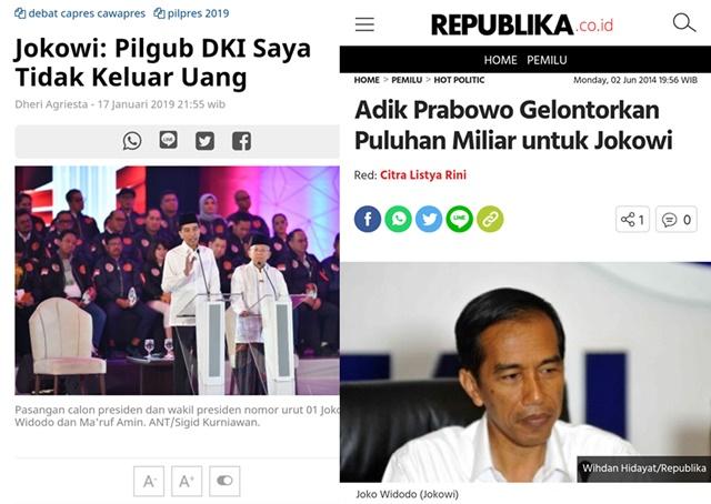 Fakta Terungkap Pasca Debat Pertama, Kampanye Jokowi di Pilgub DKI Didanai Adik Prabowo