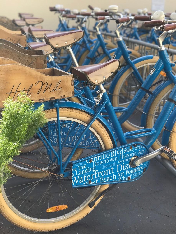Santa Barbara Hotel, Hotel Milo, Bikes to Ride