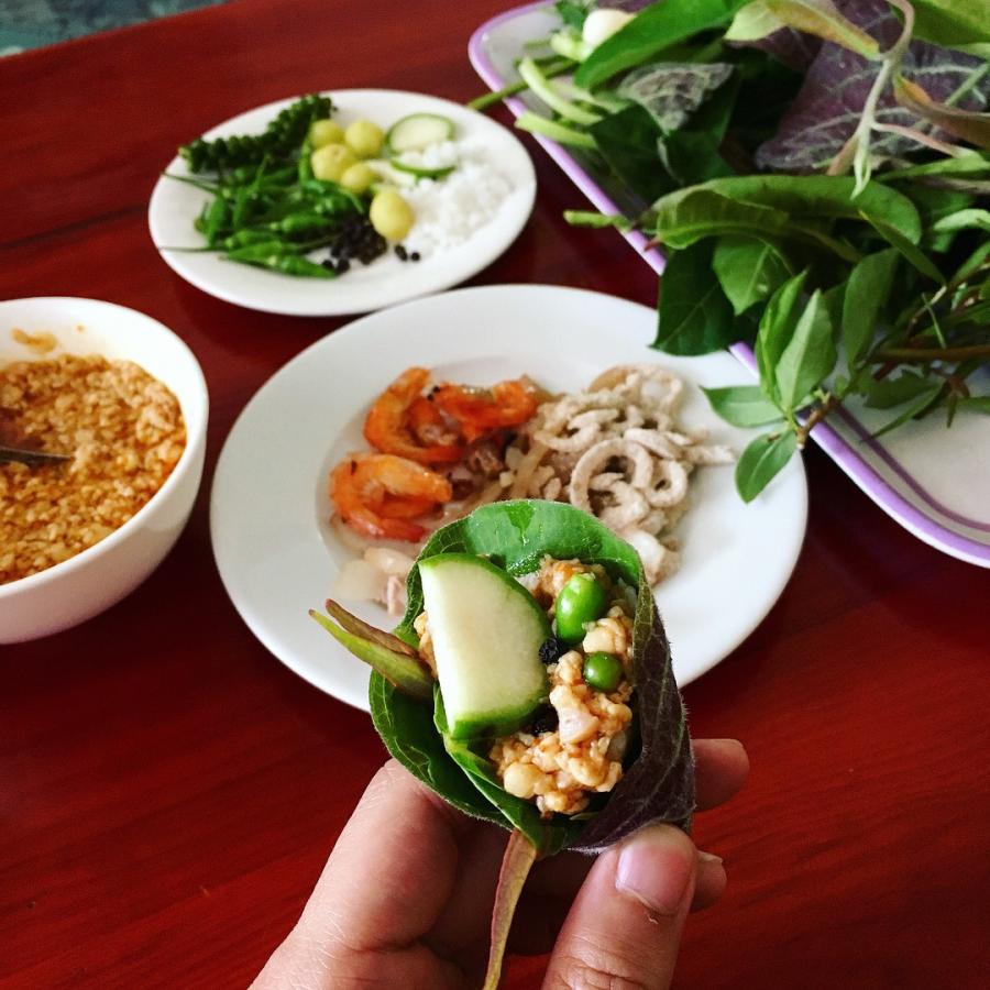 Gỏi lá Kon Tum nơi đất rừng Tây Nguyên