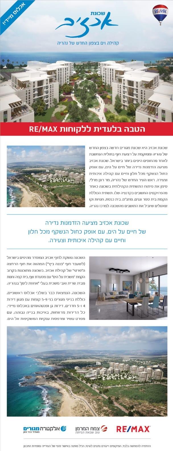 Недвижимость в Израиле на берегу моря