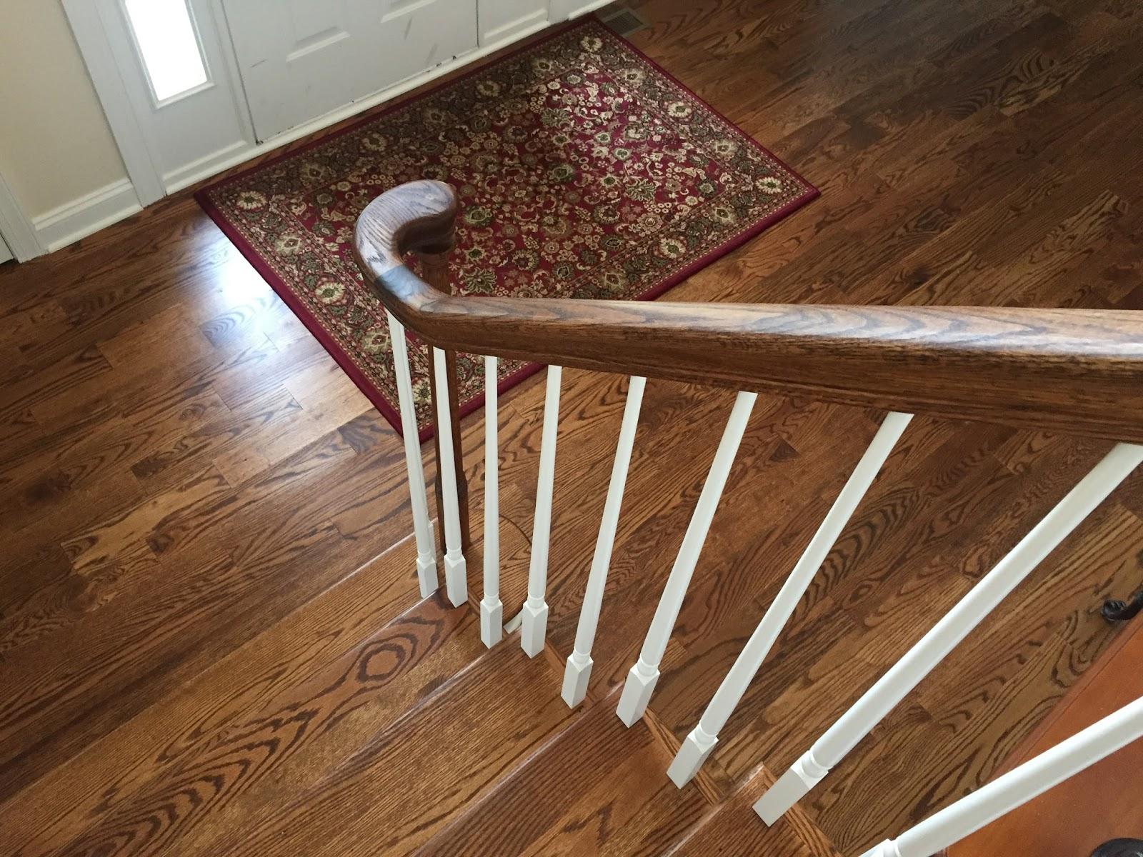 Hardwood Floors in Foyer