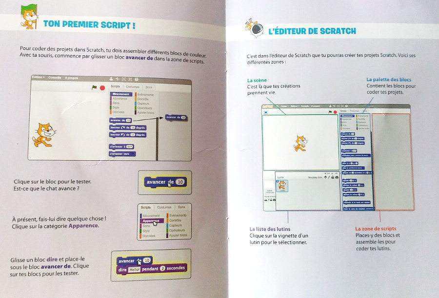 Coffret : j'apprends à coder avec scratch