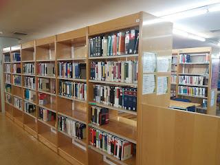 Sala 3 de la Biblioteca de Derecho UAM
