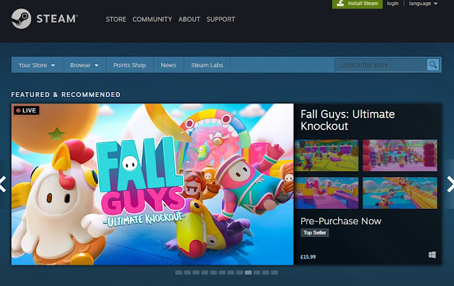 Fall Guys Steam: