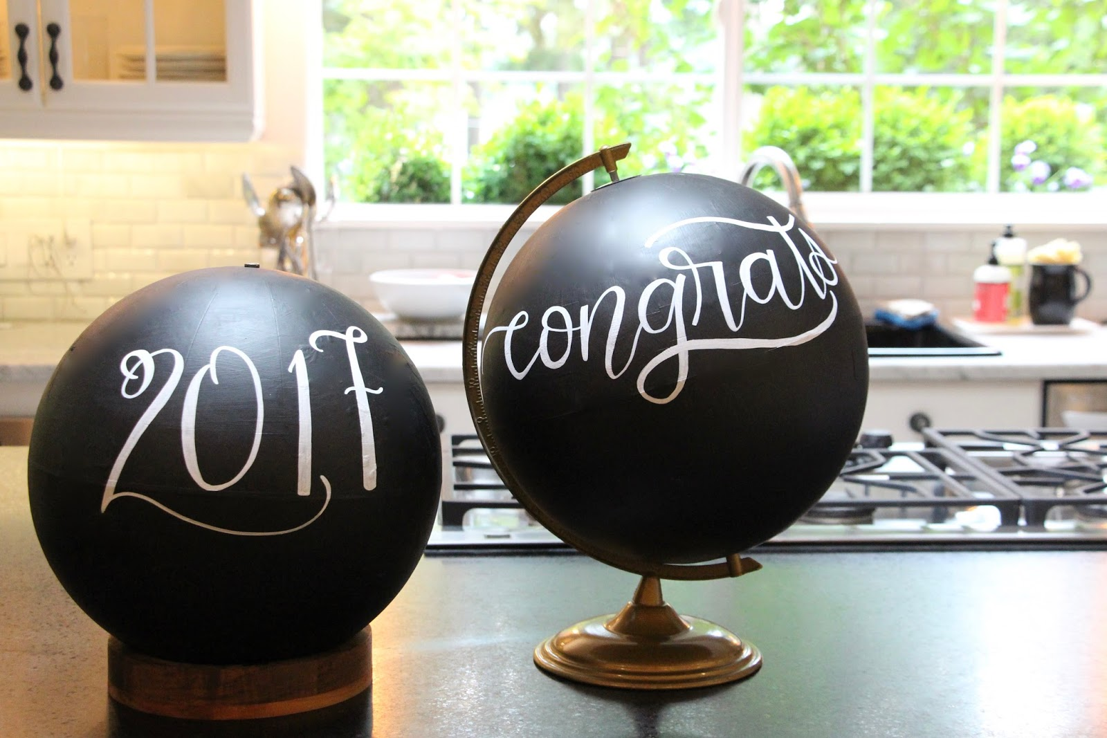 My sweet savannah globe guest book for graduation i thought about trying to do it myself but i am so glad i didnt because she did an incredible job solutioingenieria Choice Image