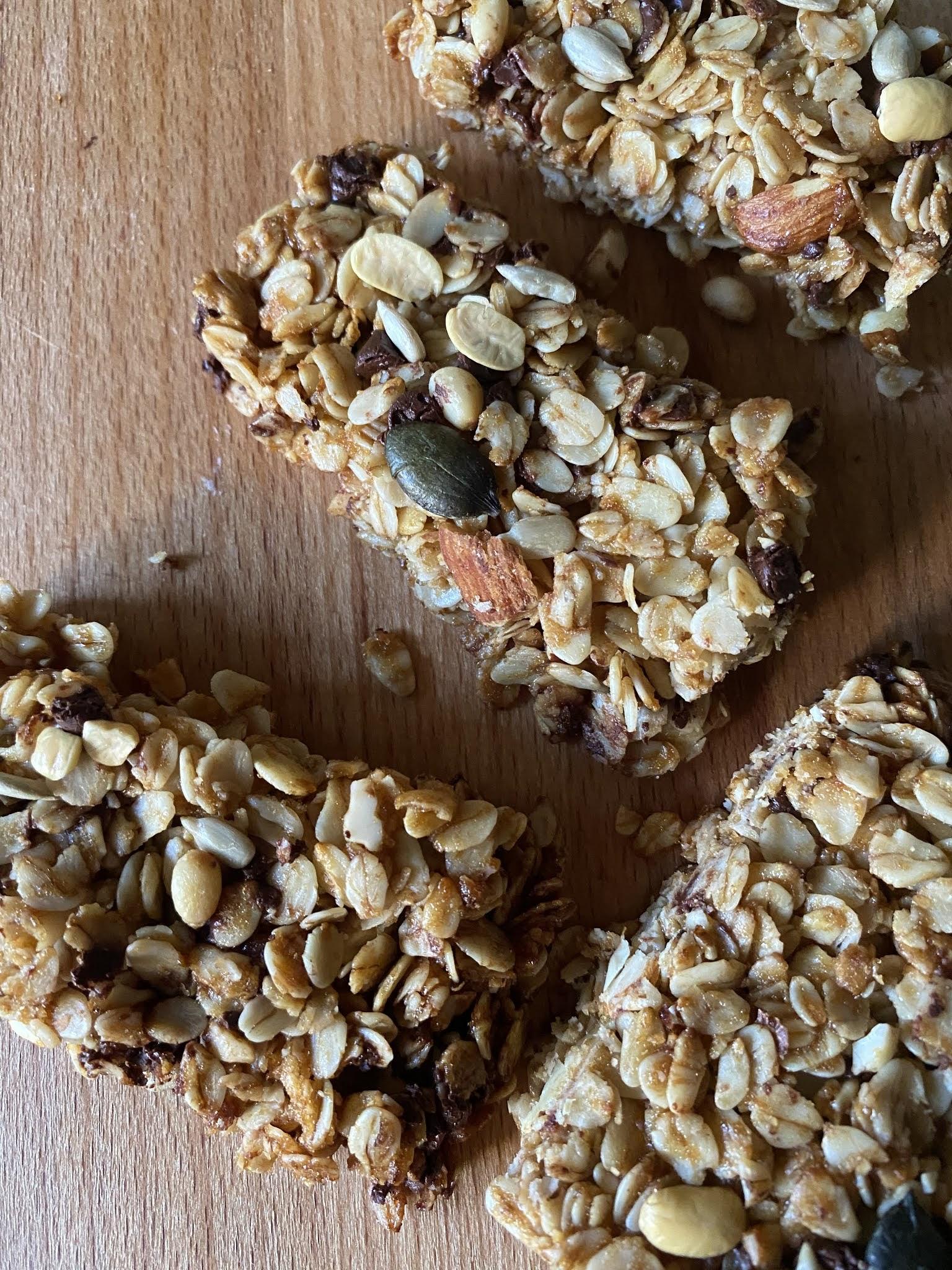Natural Homemade Granola Bars Healthy Bars By Anu Appetizing Recipes