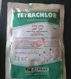Tetrachlor obat ampuh menyembuhkan patah tulang leher pada ayam aduan