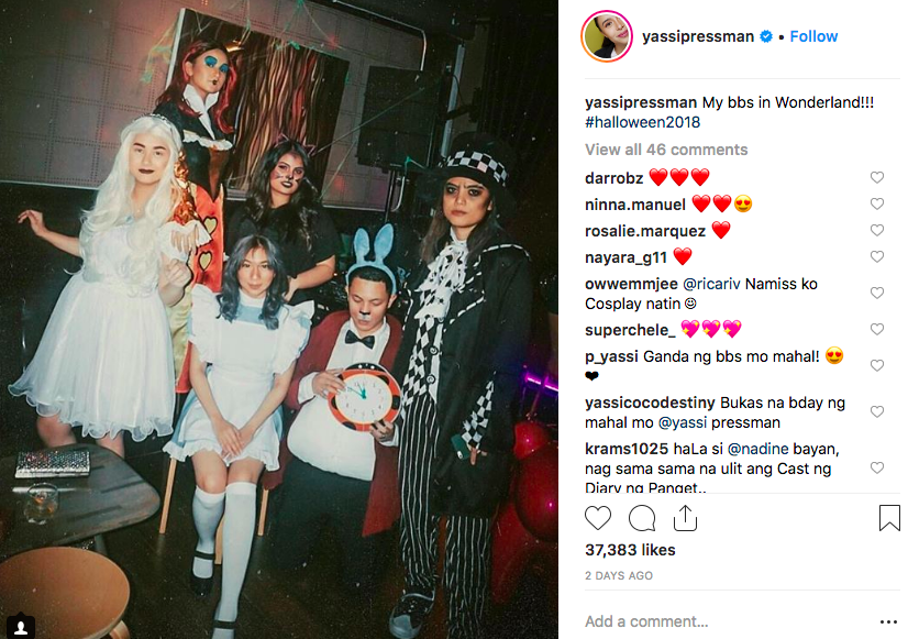 Pinoy celebrities in their Halloween costumes - iNews Ph