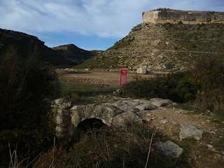 Puente romano y cerro de Santa Catalina
