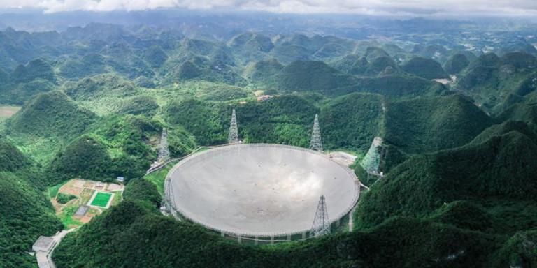 Το «Μάτι του Ουρανού»: Σε λειτουργία το μεγαλύτερο ραδιοτηλεσκόπιο του κόσμου