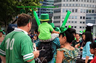 St Patrick's Day Street Festival, Singapore