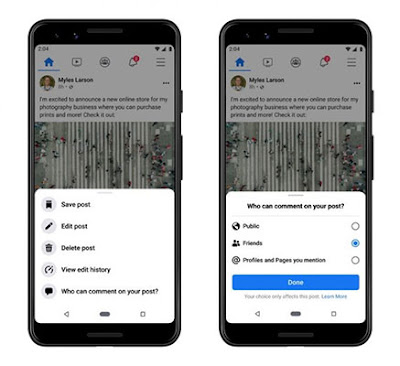 Facebook Users Can Now Limit Who Can Comment on Their Posts: eAskme