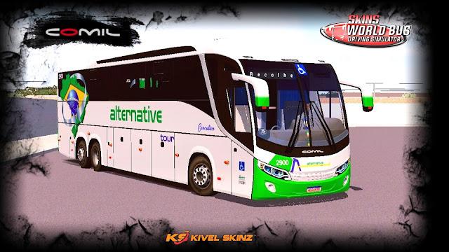 COMIL 1200 6X2 - VIAÇÃO ALTERNATIVE TOUR