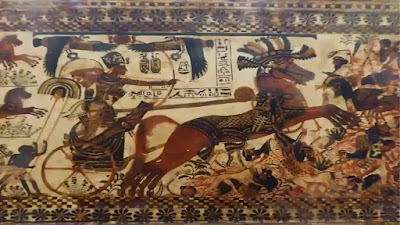 ancient egyptian military chariots