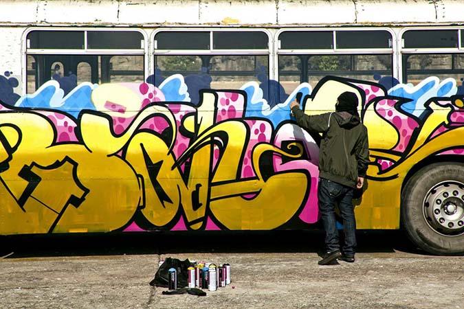 Banos Graffiti