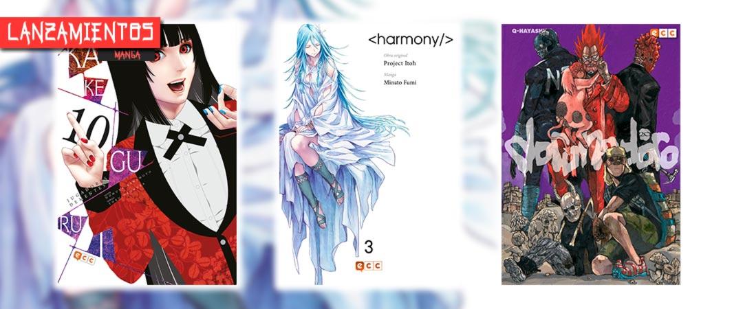 Novedades ECC Ediciones junio 2021 - manga