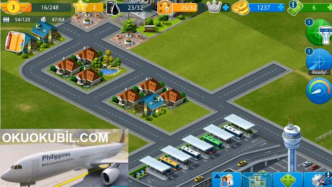 Airport City 7.2.23 Mega Sınırsız Oil, Enerji Hileli Mod Apk İndir