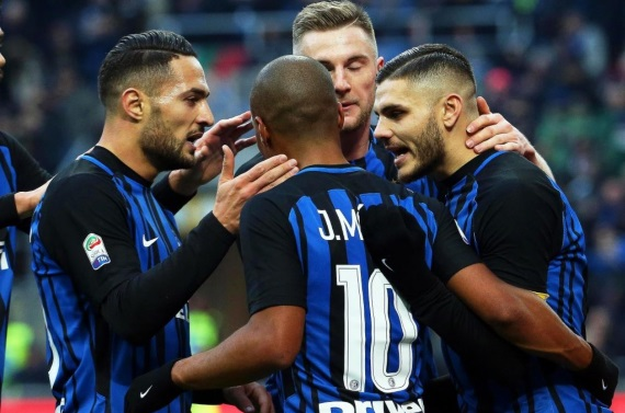 Inter Milan have won seven of their eight matches at home, scoring 20 goals and conceding just five times