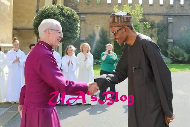 How relationship between Buhari and Archbishop of Canterbury started - APC TV news reveals