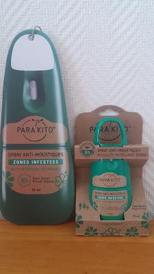 Le spray anti-moustiques