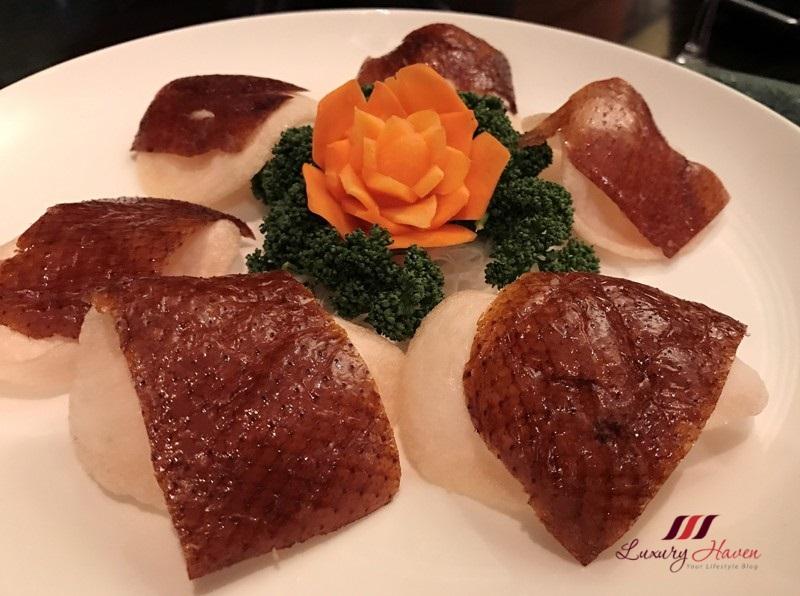 hilton tokyo bay dynasty restaurant crispy peking duck