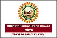 cimfr dhanbad recruitment 2019, www.cimfr.nic.in recruitment 2019,