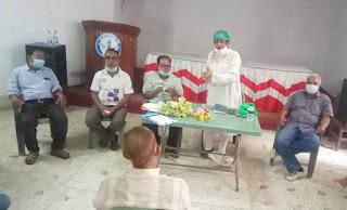 দিনাজপুরের ইলেকট্রনিক্স ও প্রিন্ট মিডিয়ার সাংবাদিকদের সাথে করোনা দূর্যোগকালিন স্বেচ্ছাসেবী টিমের মত বিনিময় অনুষ্ঠিত