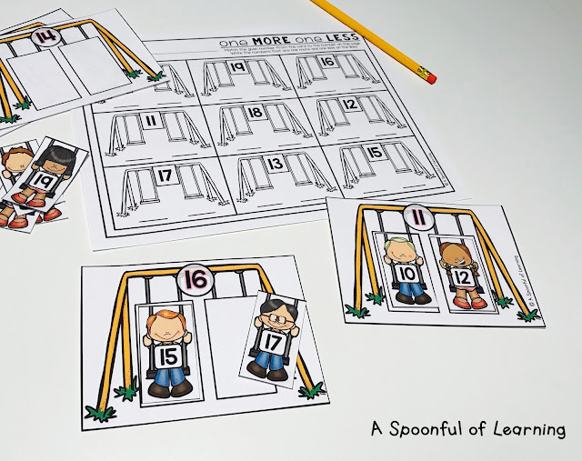 Back to School Centers - Math Center 5