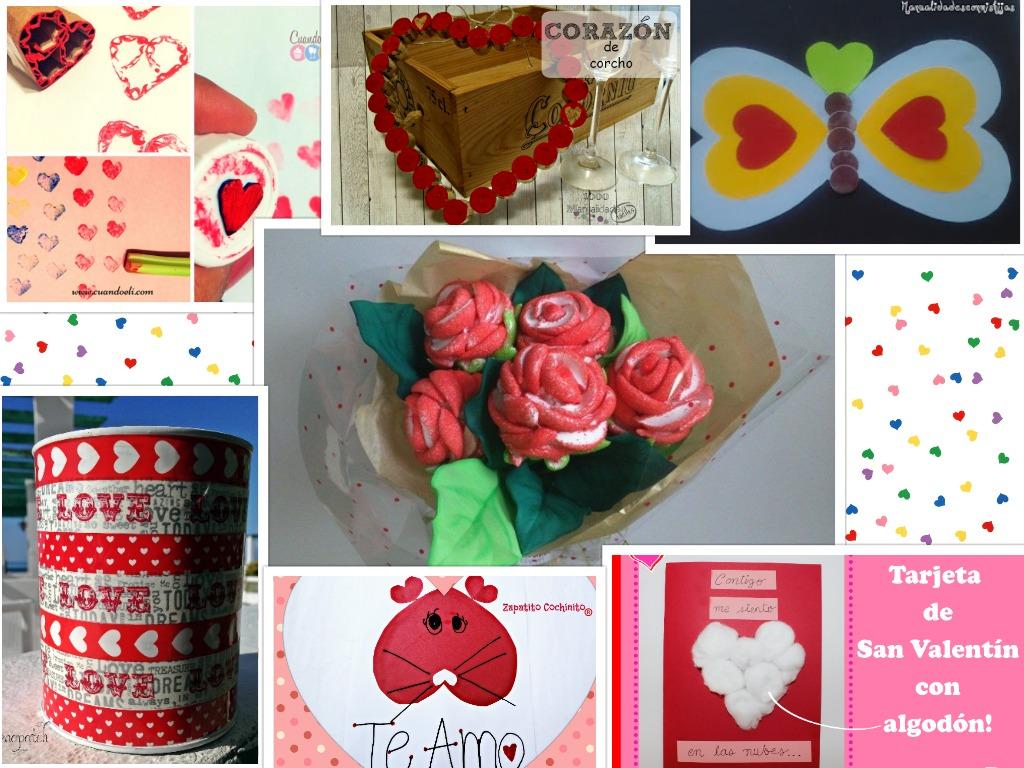 Manualidades con mis hijas mi regalo del d a 14 ideas - Ideas para regalo de san valentin ...