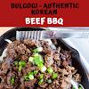 Bulgogi - Authentic Korean Beef BBQ