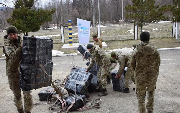 В Україні затримали рекордну партію контрабандних сигарет