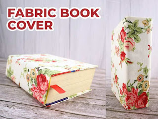 How to Make a Fabric Book Cover, one of my personal favorites!