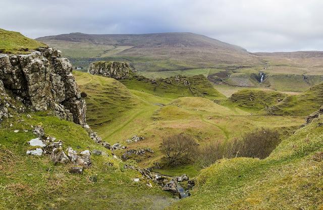 The Fairy Glen, isla de Skye (Escocia)