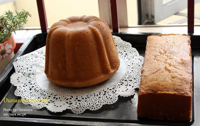 榴梿牛油蛋糕