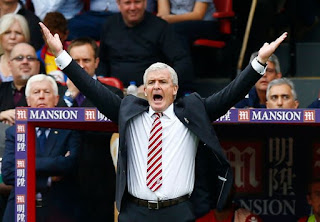 Mark Hughes, Crystal Palace 4-1 Stoke City, EPL 2016/2017
