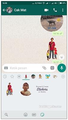 Cara Membuat Stiker Whatsapp Dengan Gambar Atau Foto Sendiri