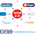 Get Free High PR Web2.0 Submissions Sites List 2019