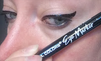 Dollar Tree LA Colors EYE MARKER smudge proof felt eyeliner marker pen