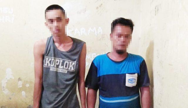 Dua Pelaku Pencabulan Ditangkap Polsek Tulang Bawang Tengah.