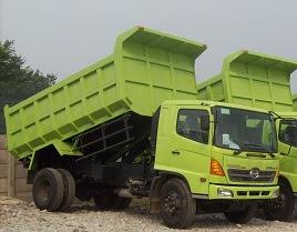 dump truk 15 kubik