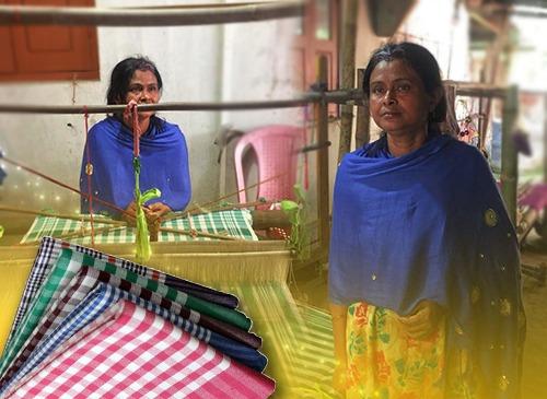 Busy Backyards, microfinance, entrepreneur, women empowerment, well-being, enterprise, business, determination, economy, startup, achievement, atmanirbhar bharat, handloom