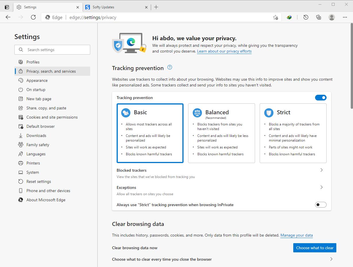 Microsoft Edge 90.0.818.62