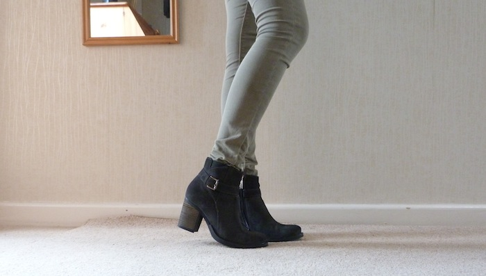 a picture of DUO Ramone Ankle Boots and Topshop Leigh Jeans