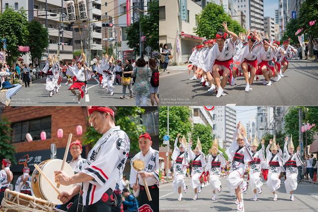 浅草雷連、マロニエ祭りの記事のカバー写真
