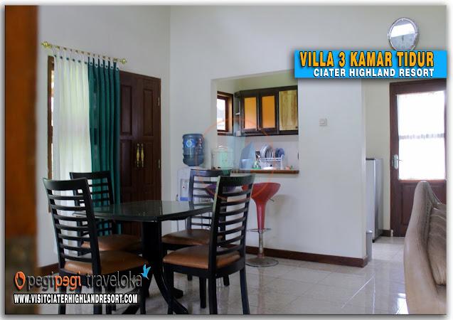Villa Ezperanza 1 - 3 Kamar Di Ciater Highland Resort