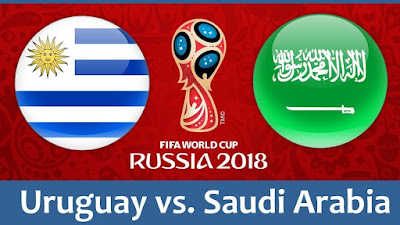 Live Streaming Uruguay vs Saudi Arabia Piala Dunia 20.6.2018