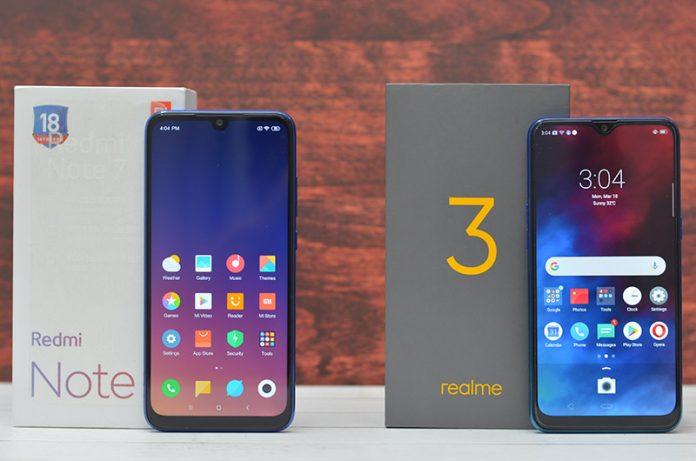 Realme 3 Vs Xiaomi Redmi 7, Siapakah Yang Lebih Unggul?