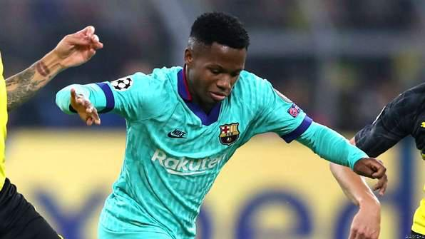 Barca Injury Woes Continue as Ansu Fati Ruled Out