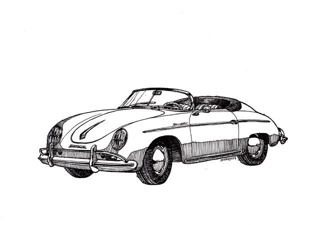 Marco Verhoog: Porsche 356A Speedster